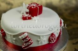 Торт на новый год #30