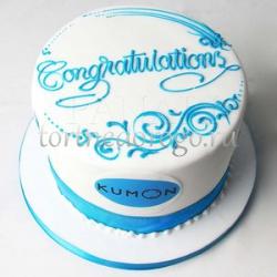 Корпоративный торт # 26