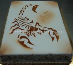 Торт для мужа #  Знак зодиака