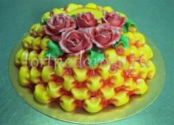 Торт для жены # Яркие краски