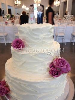 Торт без мастики # Улыбка