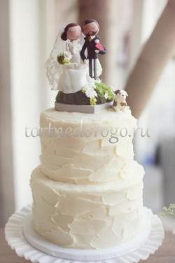 Прикольные торты на свадьбу # 2