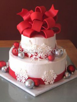 Торт на новый год #25