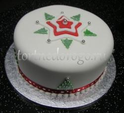 Торт на новый год #27