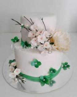 Заказать торт свадебный - Сакура
