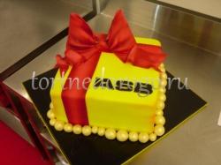 Корпоративный торт # 16