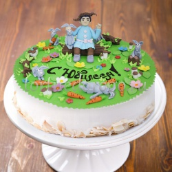 Прикольные торты на день рождения # Дед Мазай и зайцы