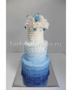 Торт свадебный 3 яруса # Карнавал