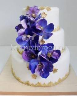 Торт свадебный 3 яруса # Премьера