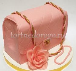 Торт для жены # Сумочка Шанель