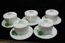 Корпоративный торт # 30