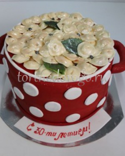 Прикольные торты на день рождения # Пельмешки