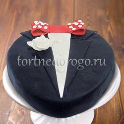 Прикольные торты на день рождения # Джентельмен