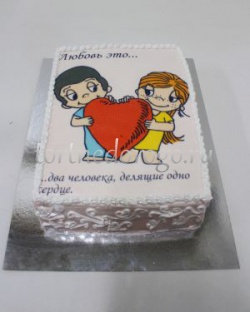Прикольные торты на день рождения # Love is