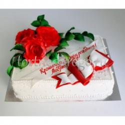 Прикольные торты на день рождения # Розочки