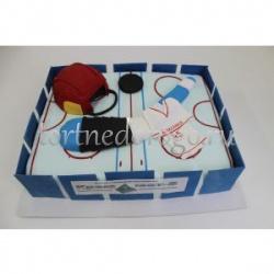 Прикольные торты на день рождения # Хоккеисты