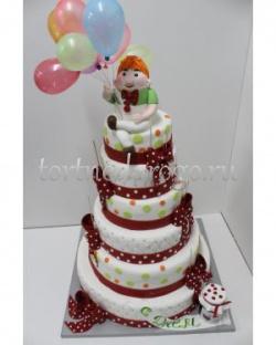 Прикольные торты на день рождения # Карлсон