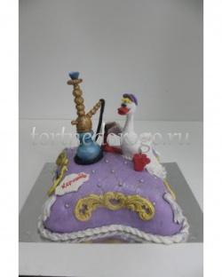 Прикольные торты на день рождения # Кальянщик