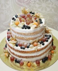 Торт свадебный  ярус # Фруктовое удовольствие