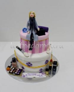 Прикольные торты на день рождения # Торт для висажиста