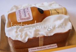Торт для мужа # Виски