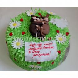 Прикольные торты на день рождения # Объятия