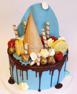 Торт без мастики # Сладкоежка
