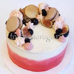 Торт для жены # Радужный