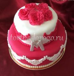 Заказать торт свадебный - Здезды любви