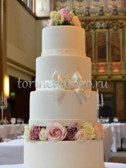 Торт свадебный 4 яруса # Успех