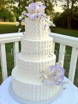 Торт свадебный 4 яруса # Восторг