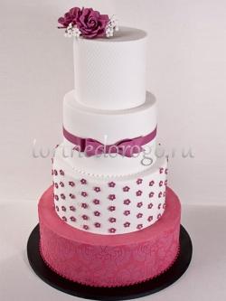 Торт свадебный 4 яруса # Праздник