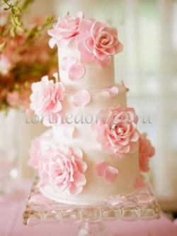 Торт свадебный 3 яруса # Крылья