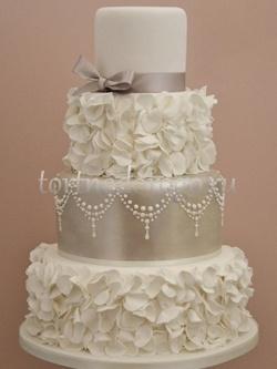Торт свадебный 4 яруса # Эйфория