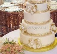 Торт свадебный 5 ярусов # 27