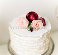 Торты свадебные 1 ярус # Магия
