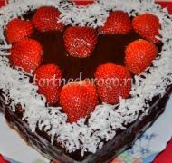 Торт на 14 февраля #10