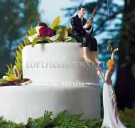 Торт свадебный  ярус # Ловец счастья