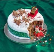 Торт на новый год #10