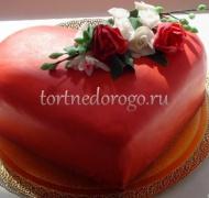 Торт на 14 февраля #18