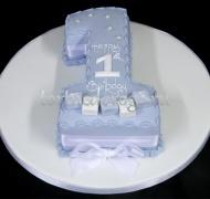 Торт детский цифра