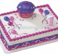 Детский торт # Кексик