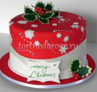 Торт на новый год #18