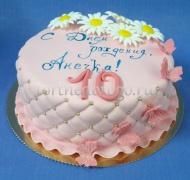 Детский торт # Ромашки