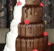 Торт свадебный 5 ярусов # 8