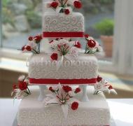 Прикольные торты на свадьбу # 10