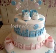 Торт на крестины # 2