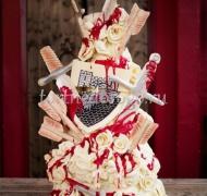 Прикольные торты на свадьбу # 27