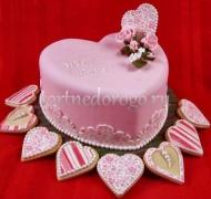 Торт на 14 февраля #22