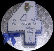 Торт детский цифра #18